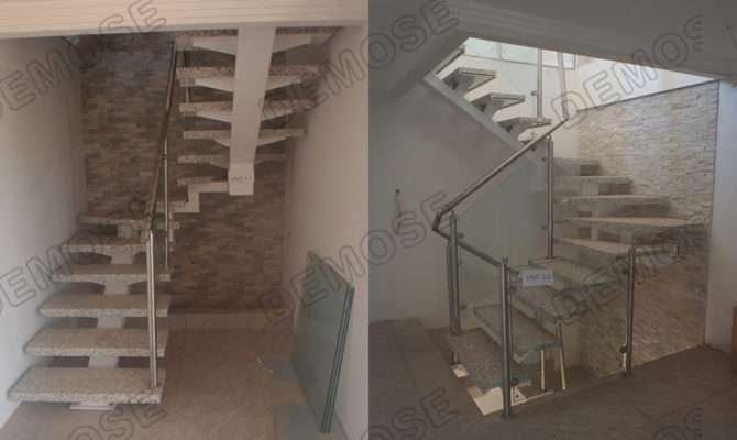 Related Case Open Staircase Fancy Steel
