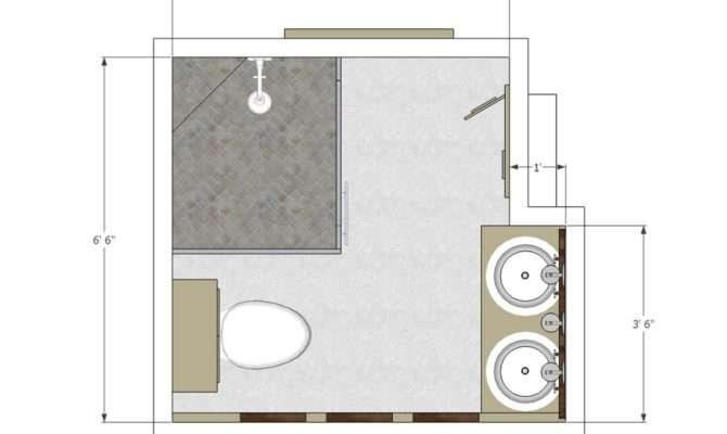 Related Small Bathroom Floor Plans Walk Shower