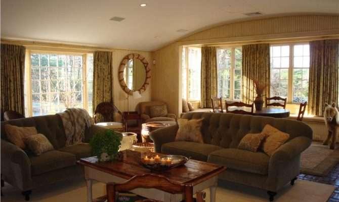 Relaxing Country Rustic Living Room Vani Sayeed