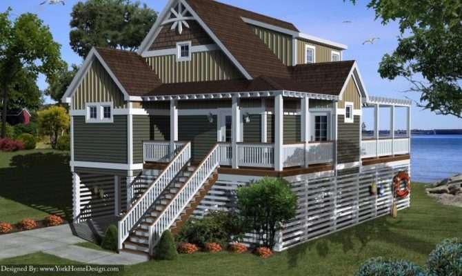 Remarkable Beach House Plans Stilts Design Ideas