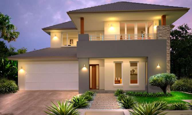 Remarkable New Home Builders Mayfair Double Storey