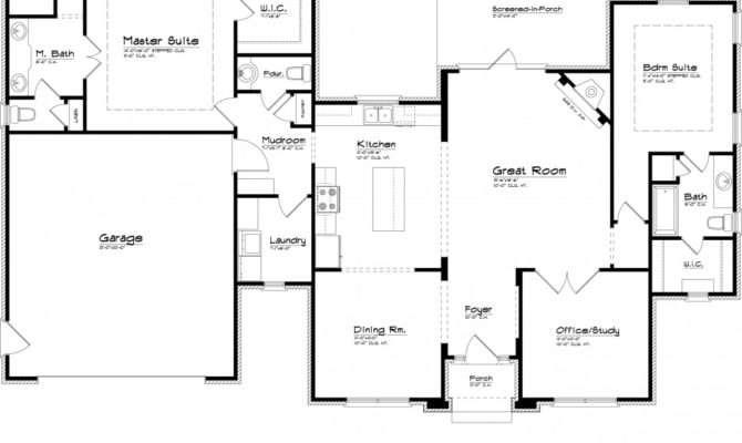 Remarkable Simple Floor Plans Measurements Plan