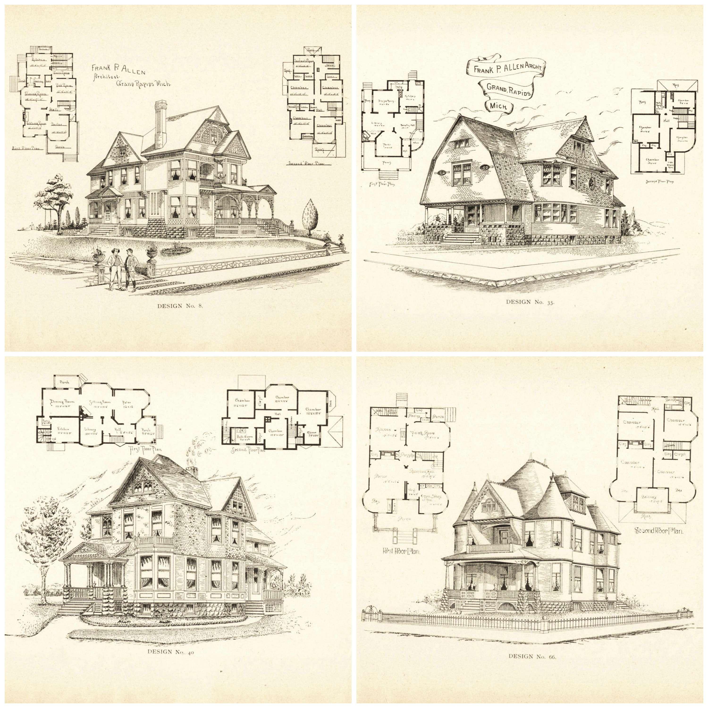 Remodelaholic Vintage Printable Blueprints