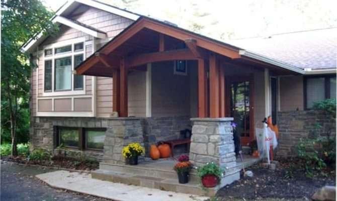 Renovated Split Level House Craftsman Style