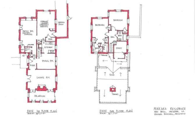 Renovation Betz Place Existing Proposed Floor