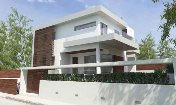Residence Gerakas Greek House Design Attiki Property