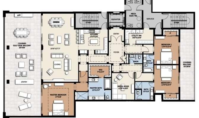 Residences Luxury Condos Sale Plan Floor