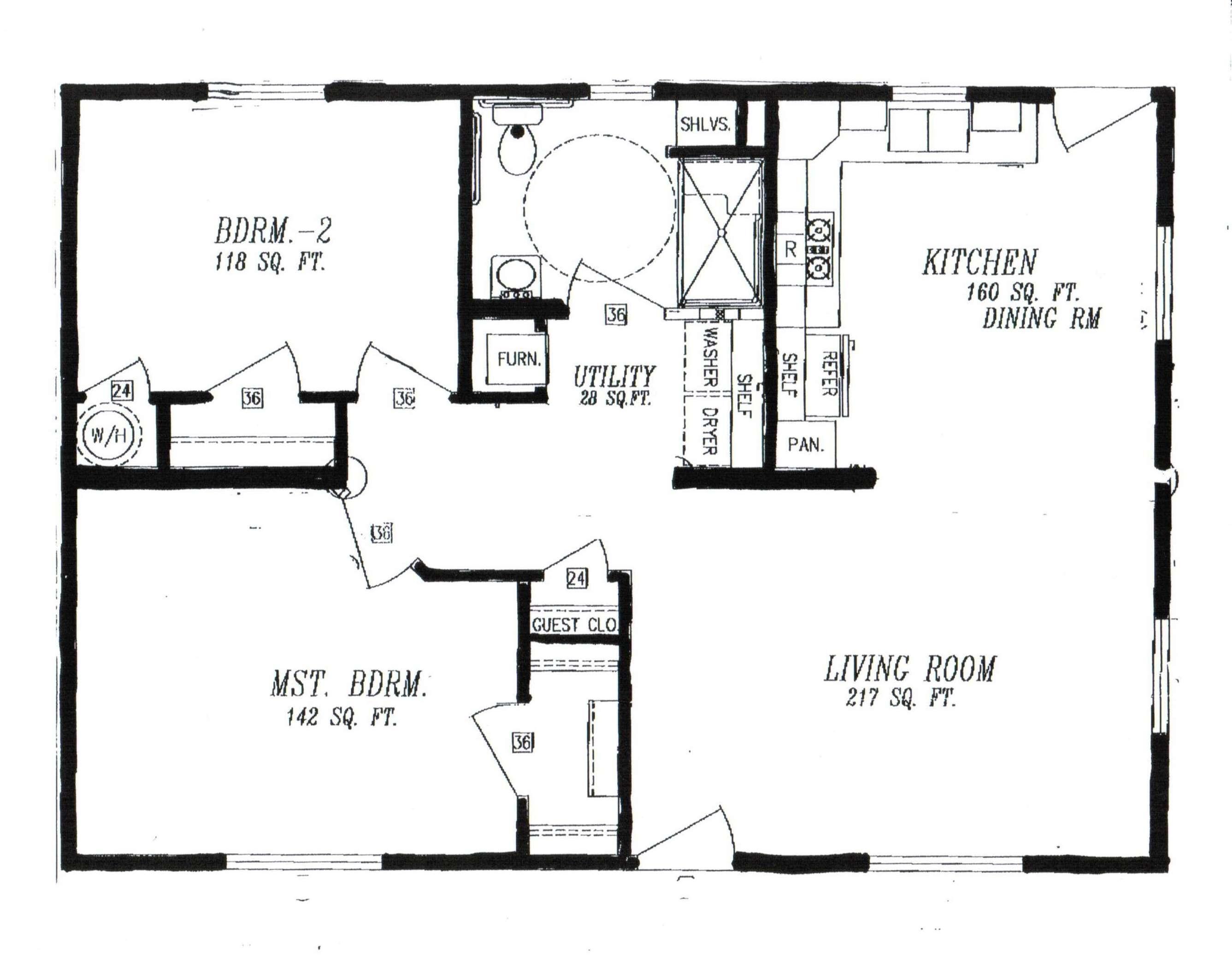 Residential Ada Bathroom Floor Plans