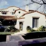 Residential Architecture Toluca Lake California Spanish