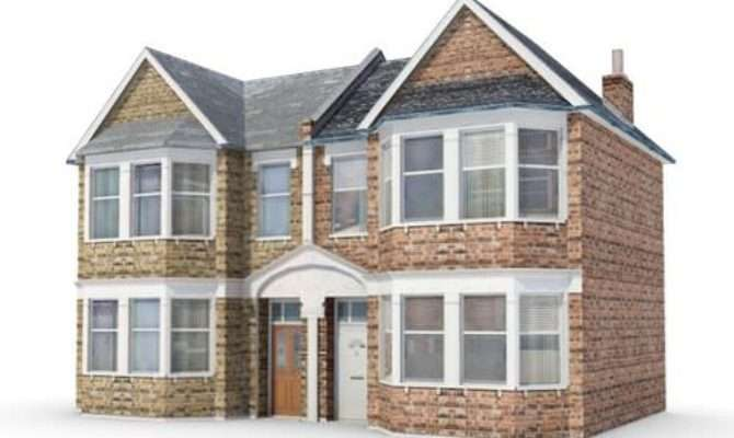 Residential Duplex Home Model Cgtrader