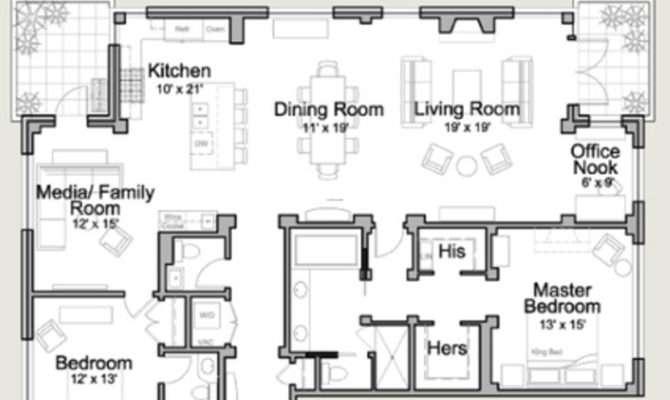 Residential House Plan Floor Plans
