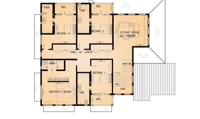 Residential Storey Lower Deck Proposal Eugene