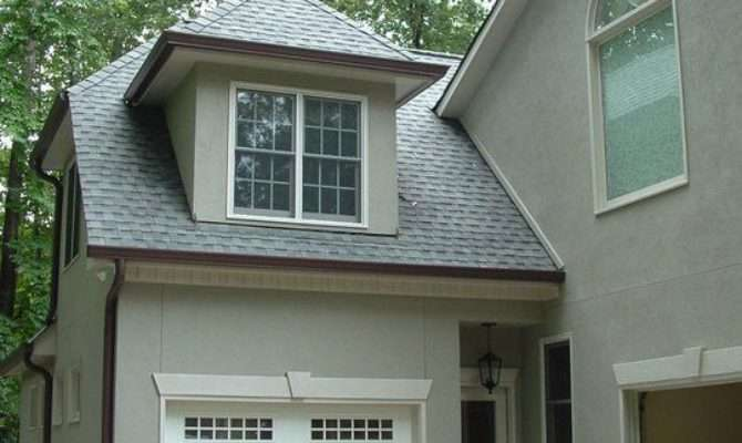 Result Attached Two Story Single Car Garage