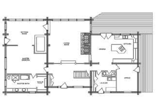 Results Log Home Floor Plans
