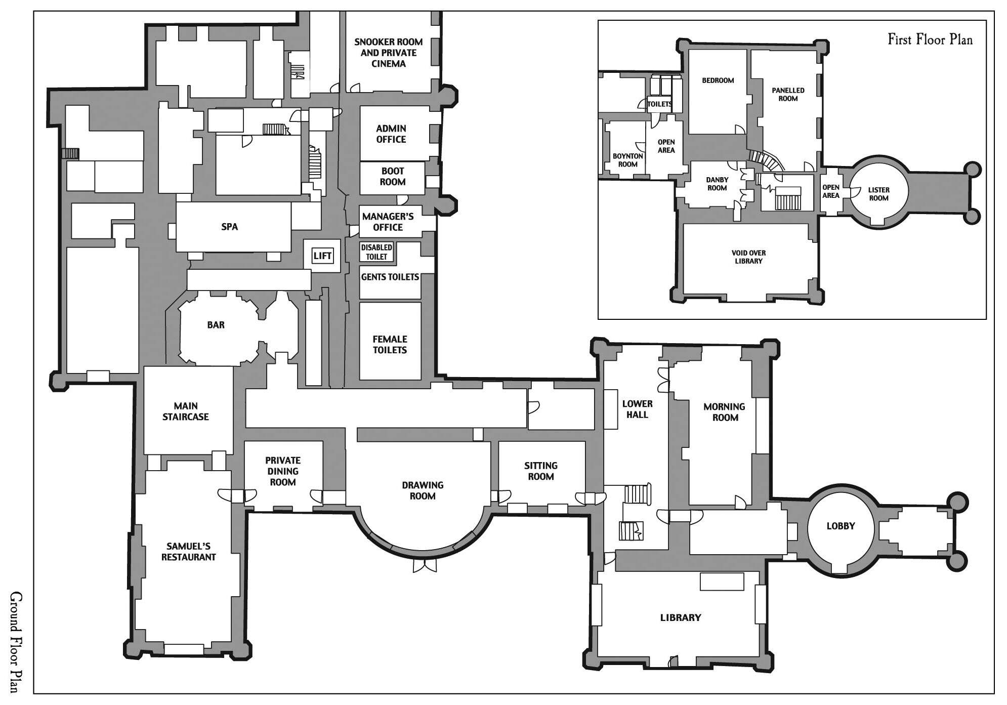 Results Return Floor Plan Ashby Castle Northants England