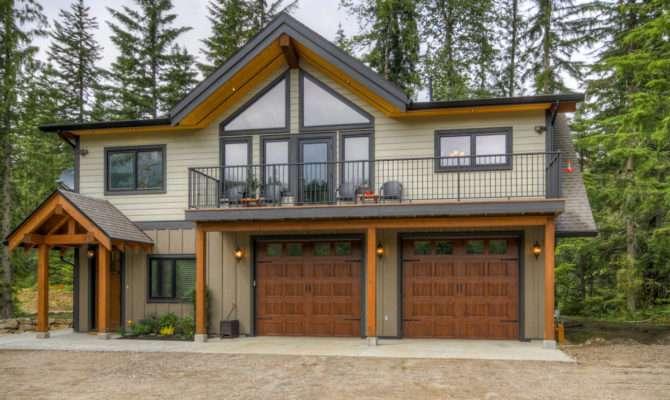 Revelstoke Coach House Timber Frame Design Streamline