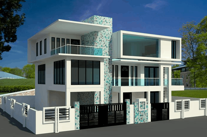 Revit Modeling Contemporary Houses