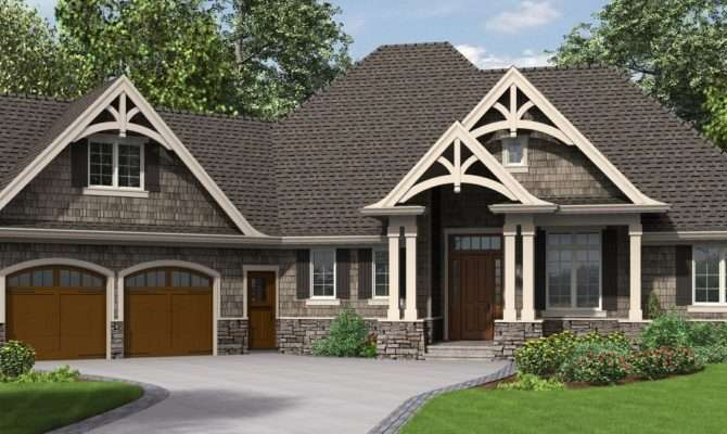 Ripley Single Story Craftsman House Plan Tons
