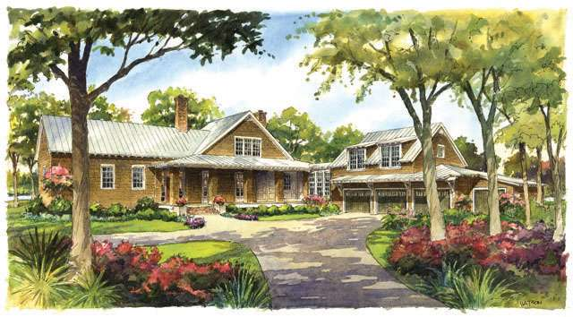 River House Southern Living Plans