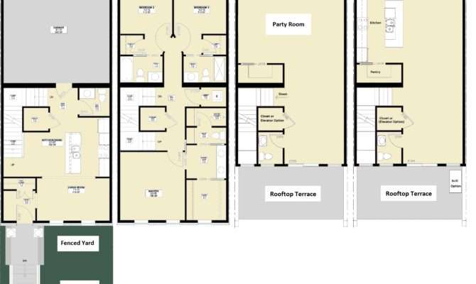 River Race Townhomes Notre Dame South Bend Indiana
