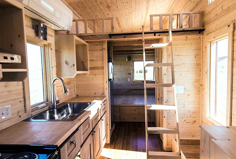 Roanoke Tumbleweed Tiny House Company Living