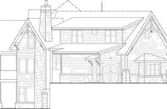 Rocky Mountain Lodge House Plans Home Archival Designs