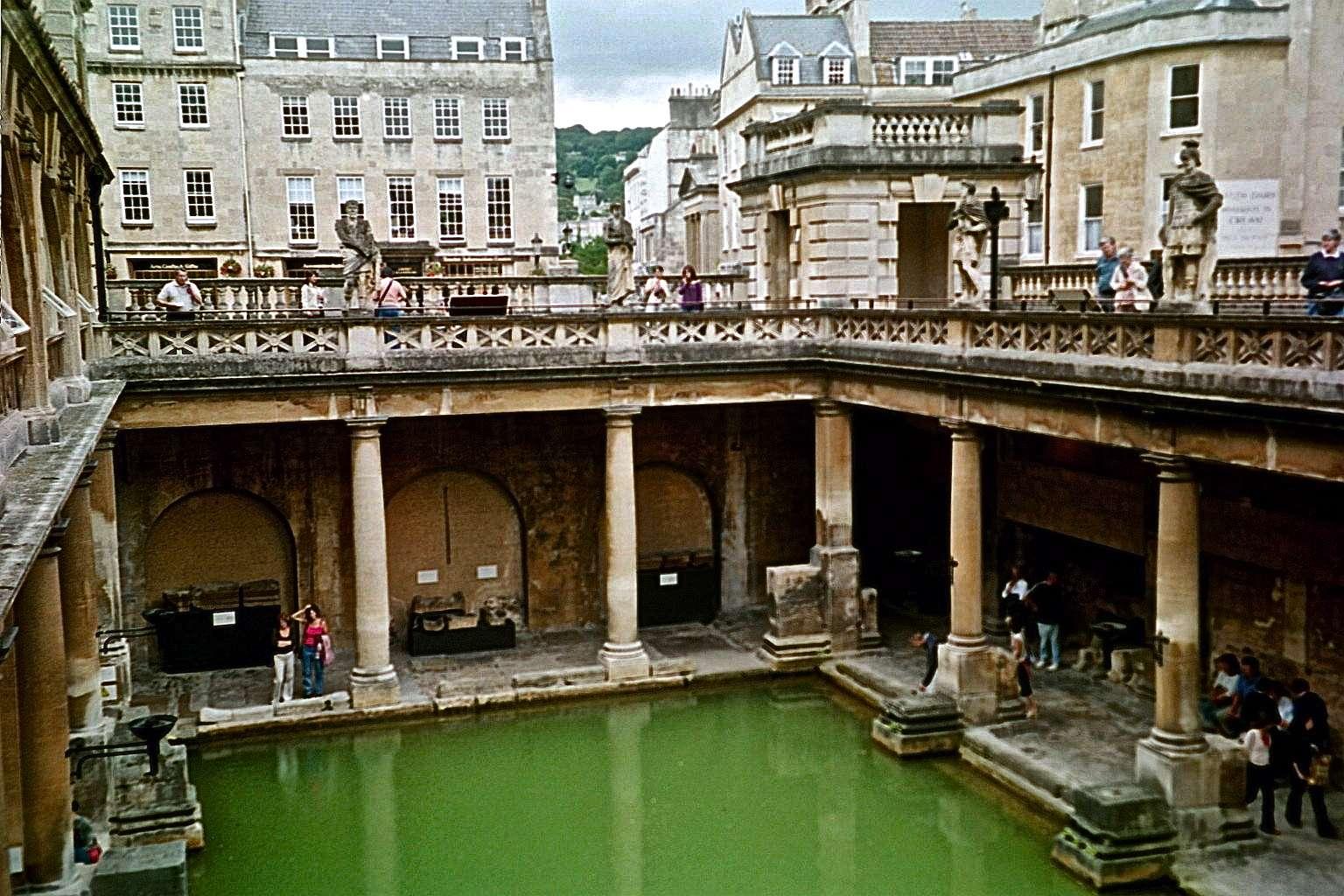 Roman Baths Bath Mademoiselle Mus