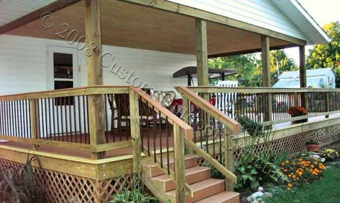 Roof Covered Deck Designs Customoutdoorstructures Screened