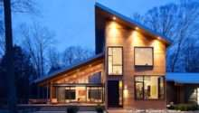 Roof House Designs Also Slanted Inspiring Home