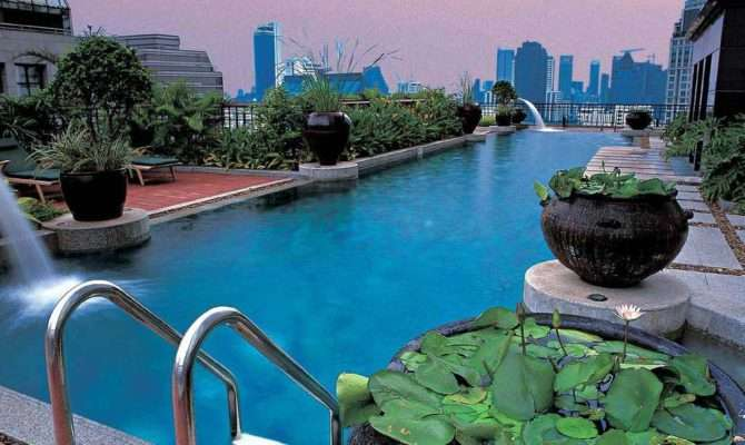 Rooftop Swimming Pool Design Ideas