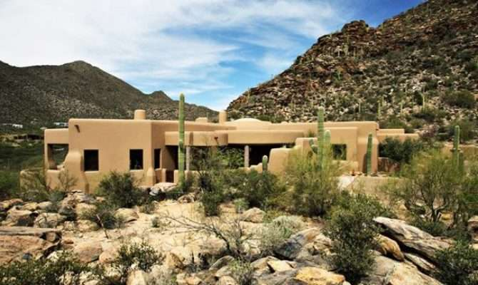 Roots Style Pueblo Revival Architecture Welcomes