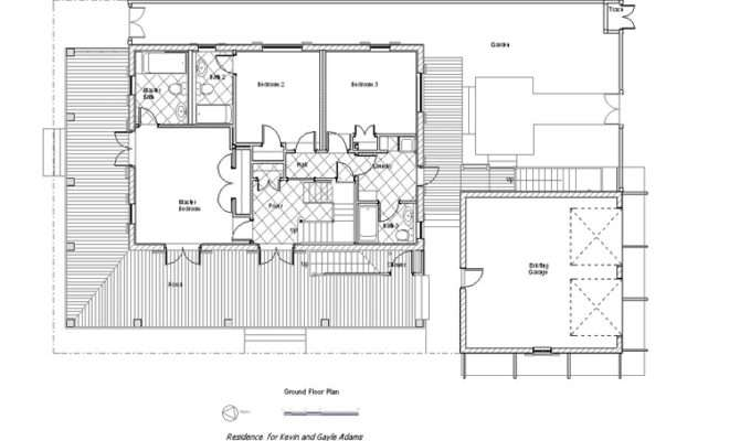 Rosemary Beach Creole Cottage Vacation Rental Floor Plans