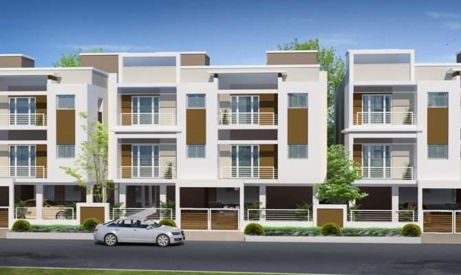 Row House Design Modern Elevation Ultra