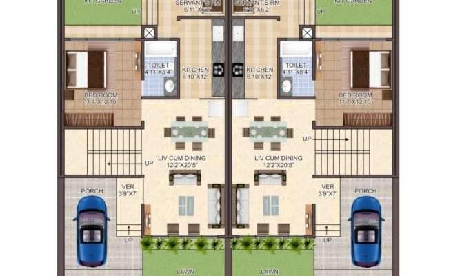 Row Houses Plan Villa Exotica Guwahati Assam