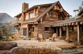 Rustic Cabin Barn Homes Cabins Pinterest