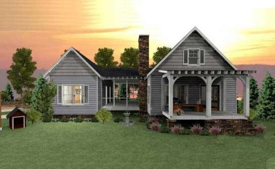 Rustic Cottage House Plans Max Fulbright Designs