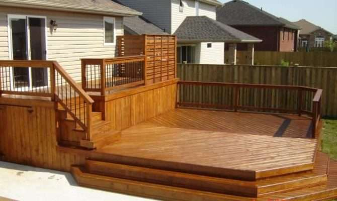 Rustic Deck Designs Home Design Trends