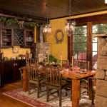 Rustic Dining Room Lands End Development Designers Builders