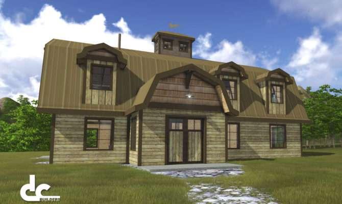 Rustic Gambrel Barn Home Tillamook Oregon Building