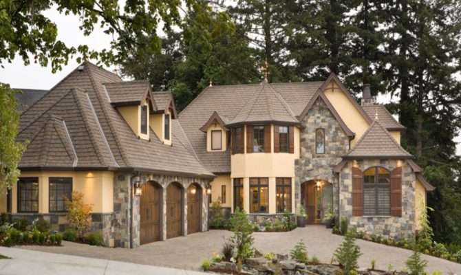 Rustic House Plans European Cottage Discover Your