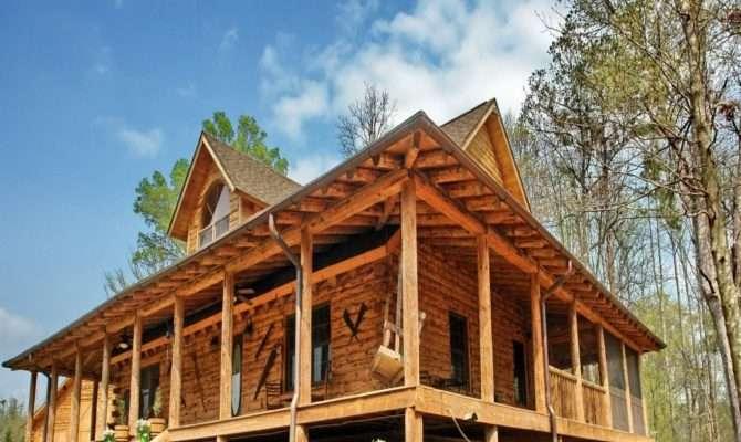 Rustic House Plans Front Porch
