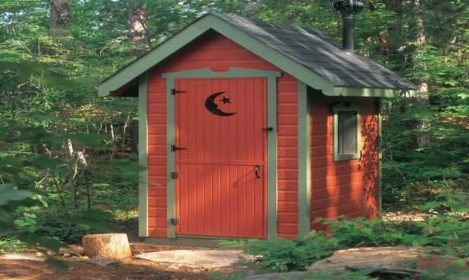 Rustic Interiors Outhouse Garden Shed Plans