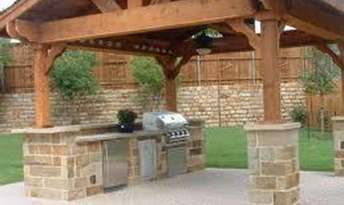 Rustic Outdoor Kitchen Designs Summer