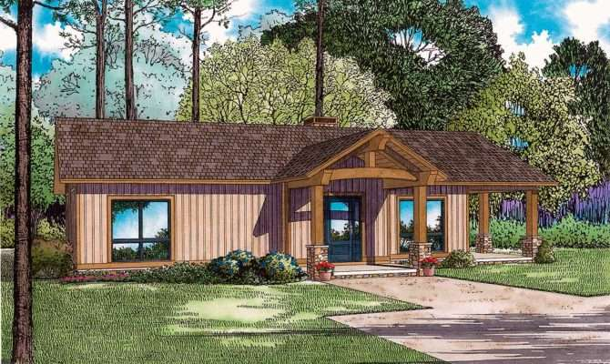Rustic Ranch Large Grilling Porch