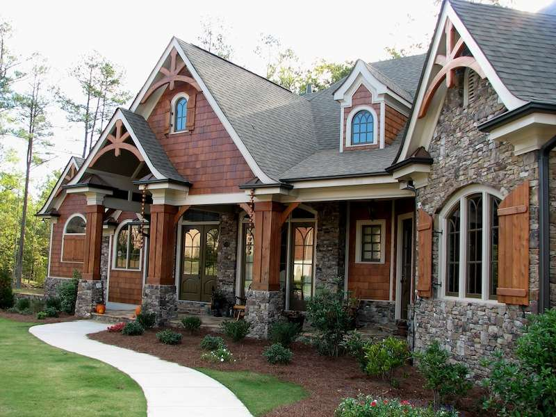 Rustic Style House Plans Smalltowndjs