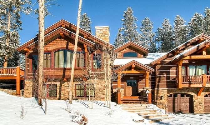 Rustic Timber Lodge Breckenridge Usa Catered Self