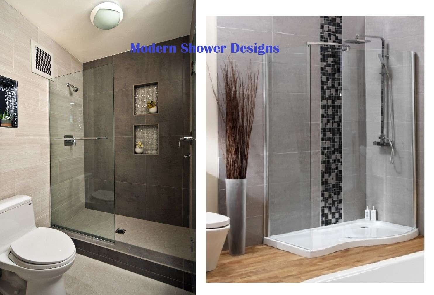 Rustic Walk Shower Designs