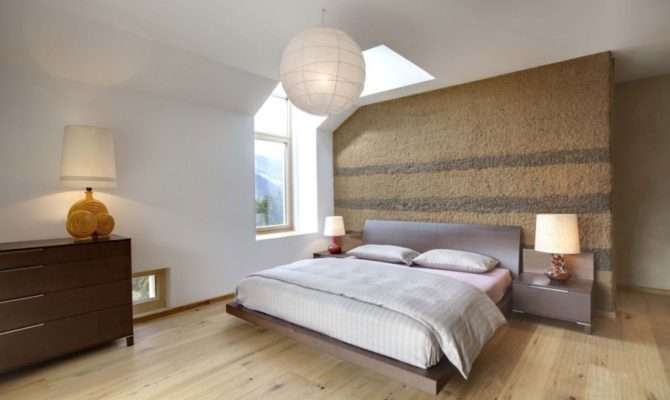 Rustic Wooden Floor Bedroom Design Inspirations