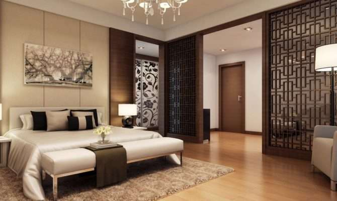 Rustic Wooden Floor Bedroom Design Inspirations