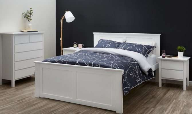 Sale Hardwood White King Beds Off Rrp